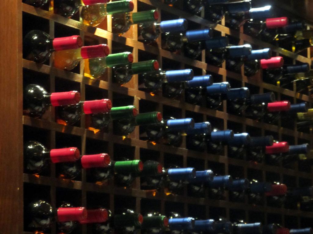 Cantina bottiglie